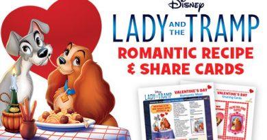 Lady & the Tramp Valentine's Day