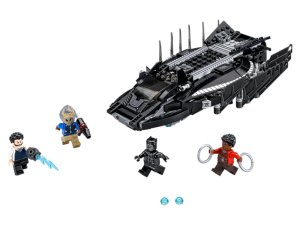LEGO Marvel Black Panther Royal Talon Fighter Attack