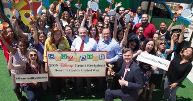 2018 disney grant heart of Florida United Way