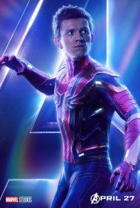 Avengers Infinity War Spider Man