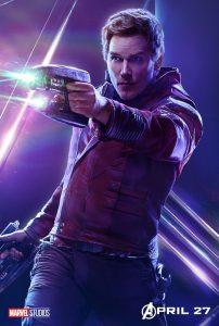 Avengers Infinity War Star Lord