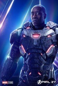 Avengers Infinity War War Machine