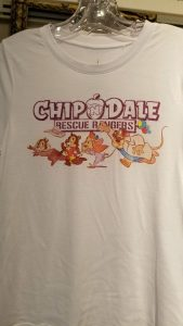 Box Lunch TShirt Chip Dale Rescue Rangers