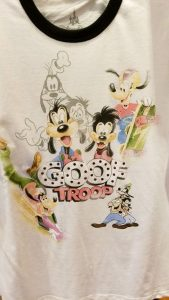 Box Lunch TShirt Goof Troop
