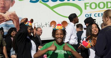 Disney Grants Second Harvest