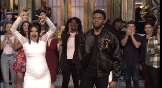 chadwick boseman saturday night live