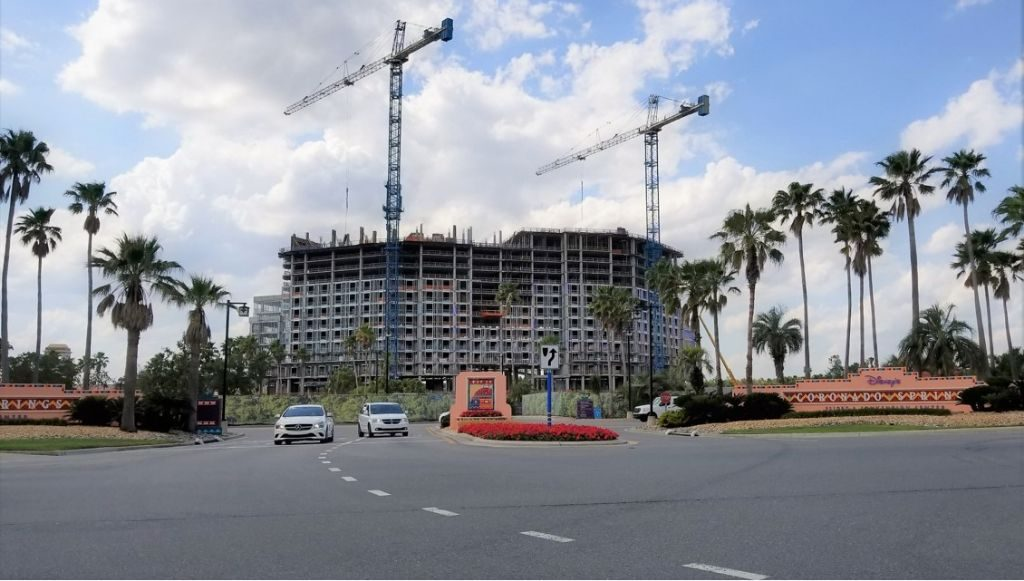 New Coronado Springs Resort Tower Expansion