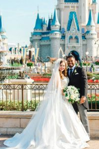 DIsney wedding texas couple