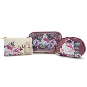 Star Wars Darth Vader Floral Makeup Bag Set