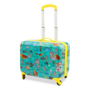 Lady and the Tramp Rolling Luggage for Kids - Furrytale Friends