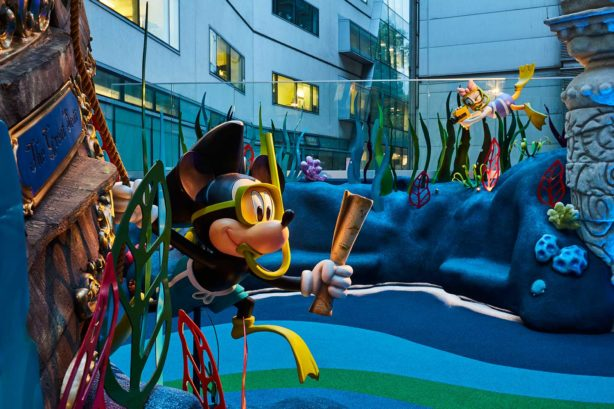 Disney Reef Mickey Great Ormond Street Hospital