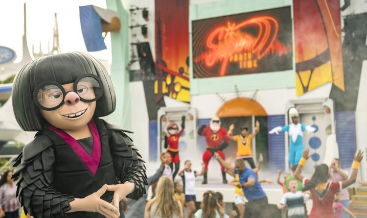 Incredible Tomorrowland Expo Welcomes Edna Mode