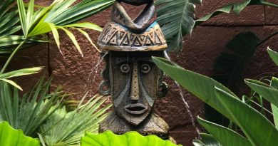 Peek-A-Boo Tiki - Wordless Wednesday