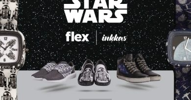 star wars Flex Watches and Inkkas Worldwear footwear