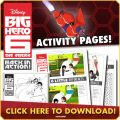 Big Hero 6 DVD Printables