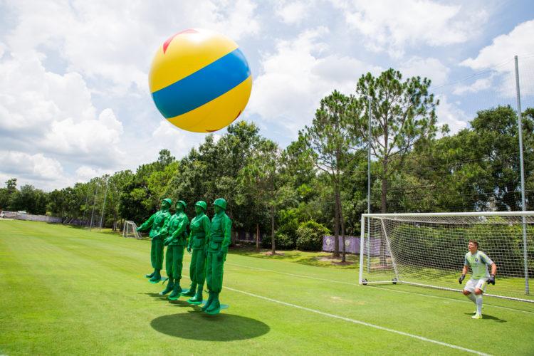"Green Army Men ""Play BIg"" with Orlando City Soccer Club"