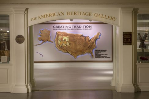 Creating Tradition: Innovation and Change in American Indian Art Gallery Exhibit at Epcot