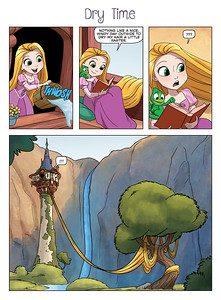 Target Comic Rapunzel Book