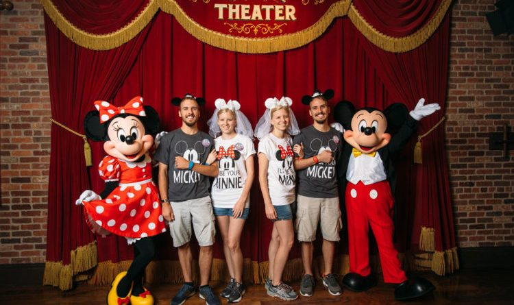 "Twin Newlywed Couples ""Twinning"" at Disney"