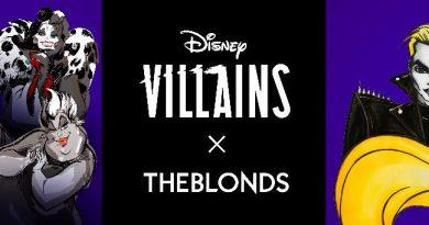 Disney Villains X THE BLONDS Collaboration