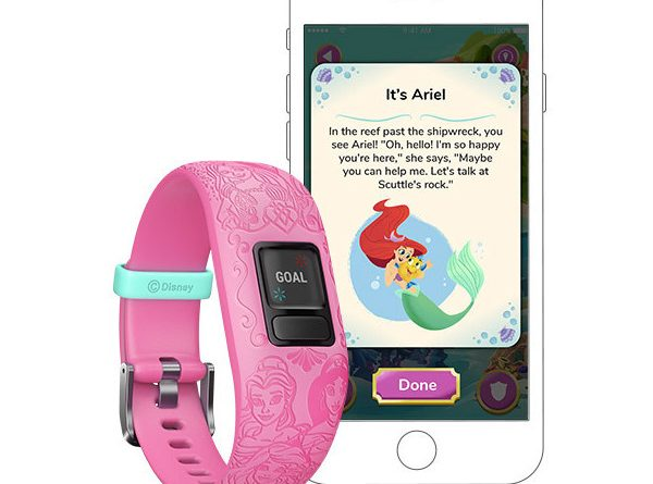 vivofit garmin disney kid goals