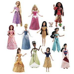 Princess 11 inch Gift Set of Dolls