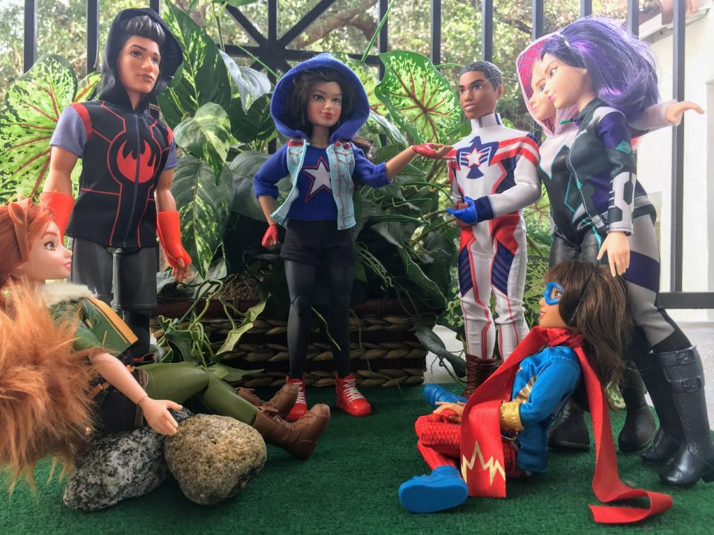 Marvel Rising Secret Warrior toys