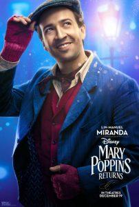 Mary Poppins Returns Lin Manuel Miranda
