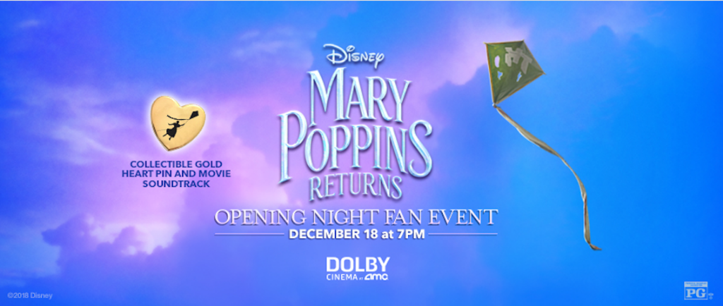 Mary Poppins Returns Fan Event