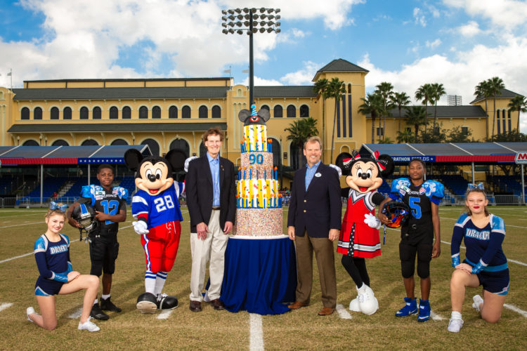Pop Warner Celebrates 90 Years During Pop Warner Super Bowl at Disney