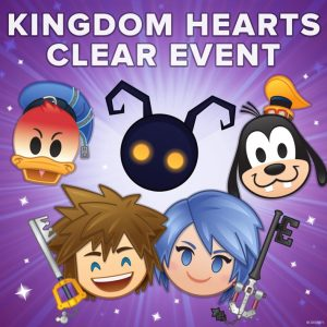 kingdom hearts clear event emoji blitz disney
