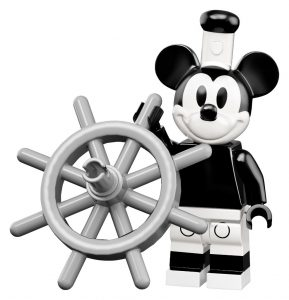 Disney Lego Minifigures New Series 2 Steamboat Mickey
