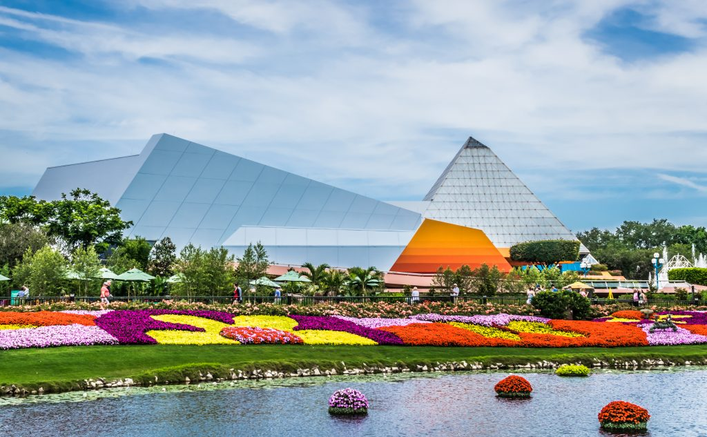 EPCOT Imagination Pavilion in Bloom