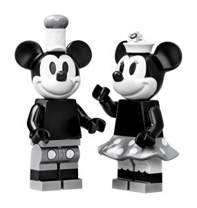 Steamboat Willie Lego Set