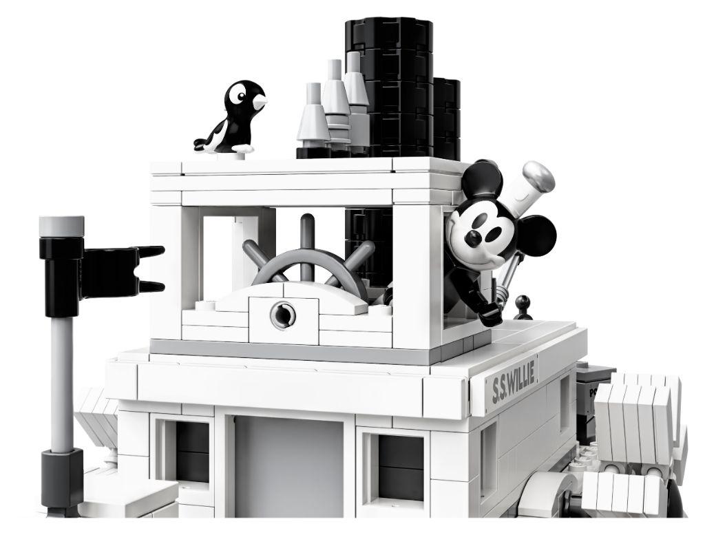 Steamboat Willie Lego Set