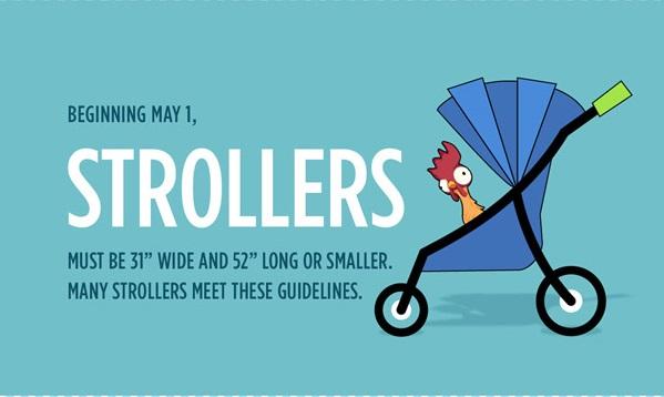 WDW DL Strollers