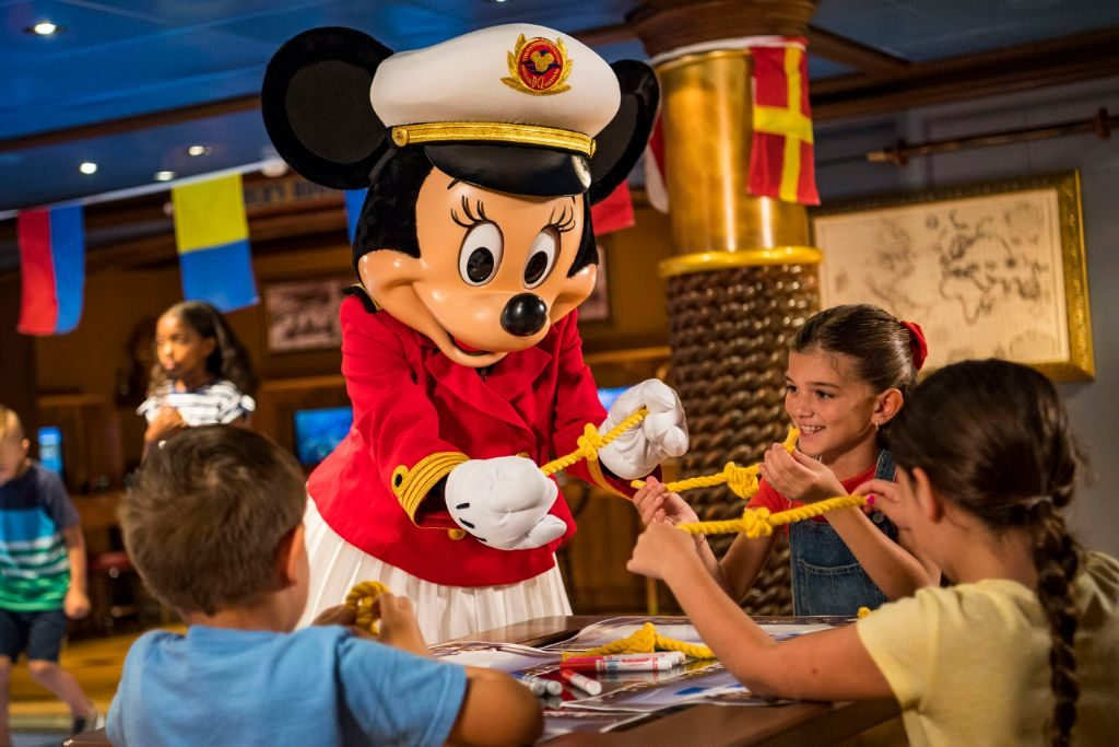 Captain Minnie Mouse - Nautical Youth Program