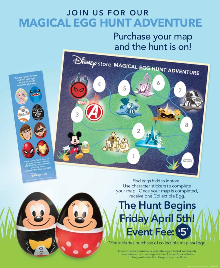 disney store magical egg hunt