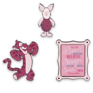 disney wisdom April collection Piglet pins