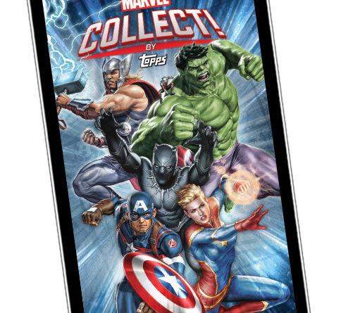 marvel collect by topps
