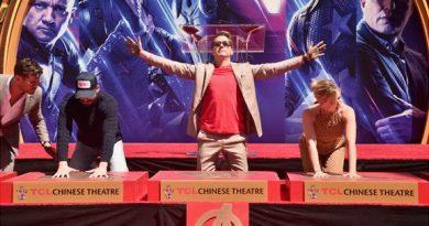 Avengers Endgame Handprint Ceremony
