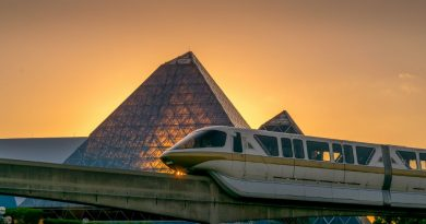 Golden Hour Monorail