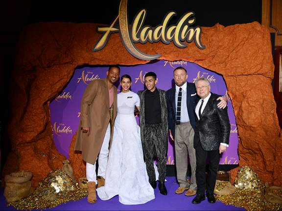 Aladdin Magic Carpet Tour