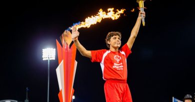 special olympics torch lighting wide world of sports