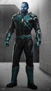 Bron Captain Marvel Kree character designs Ian Joyner