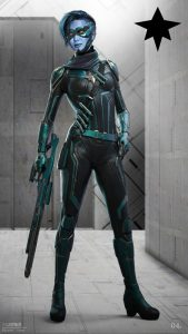 Minn Erva Captain Marvel Kree character designs Ian Joyner