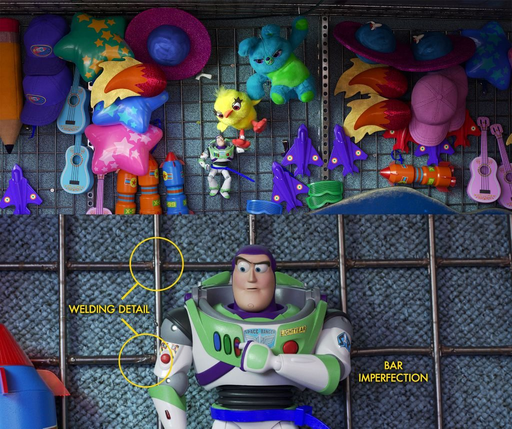 toy story 4 booth details