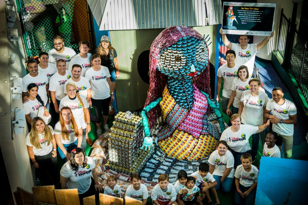 Disney-VoluntEARS-2019-CANstruction-sculpture