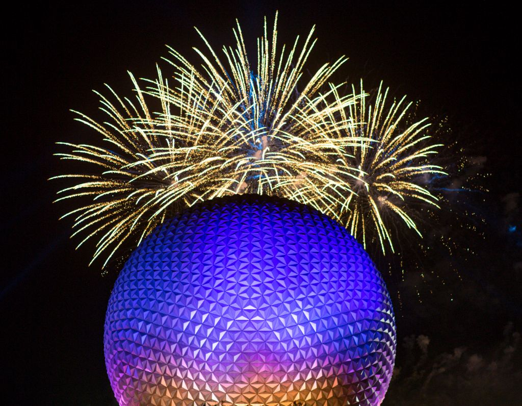 """Epcot Forever"" Nighttime Spectacular"