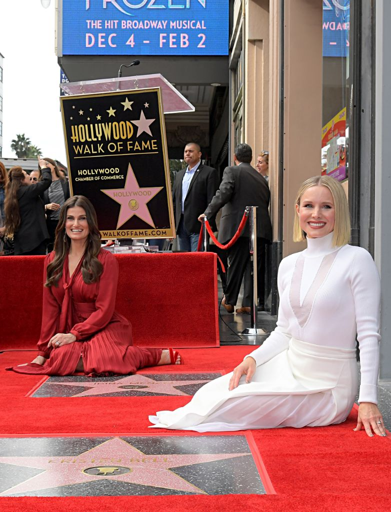 FROZEN 2's Kristen Bell & Idina Menzel Honored with Stars on Hollywood Walk of Fame